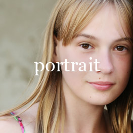 Portrait of girl looking at the camera